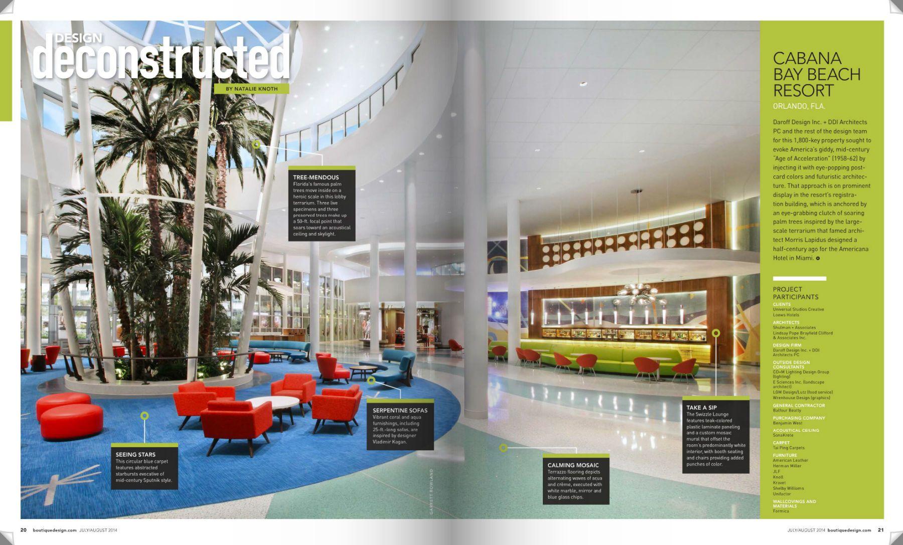 Cabana Bay Beach Resort/Daroff Designs Inc