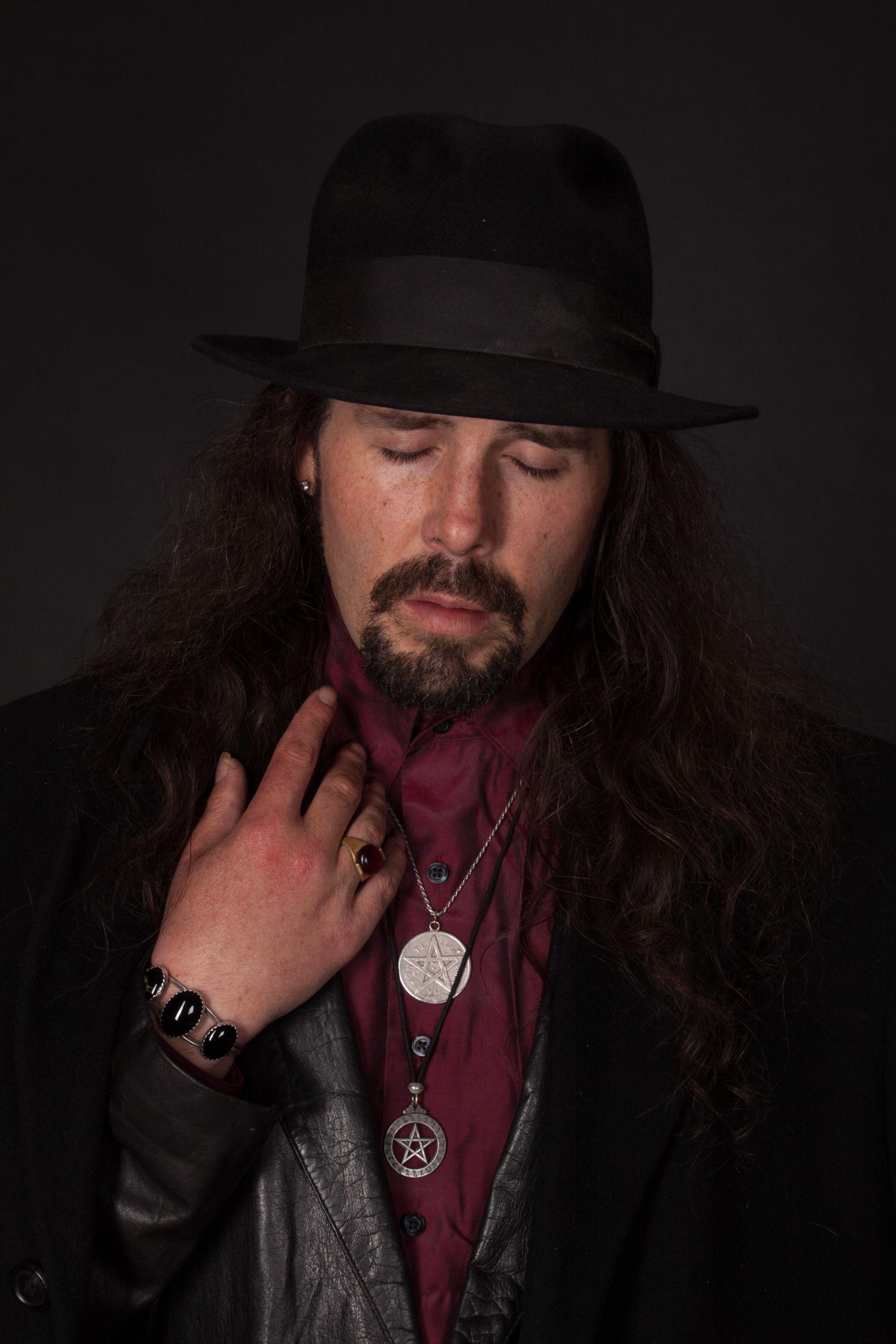 Jared Scott Walden in black hat