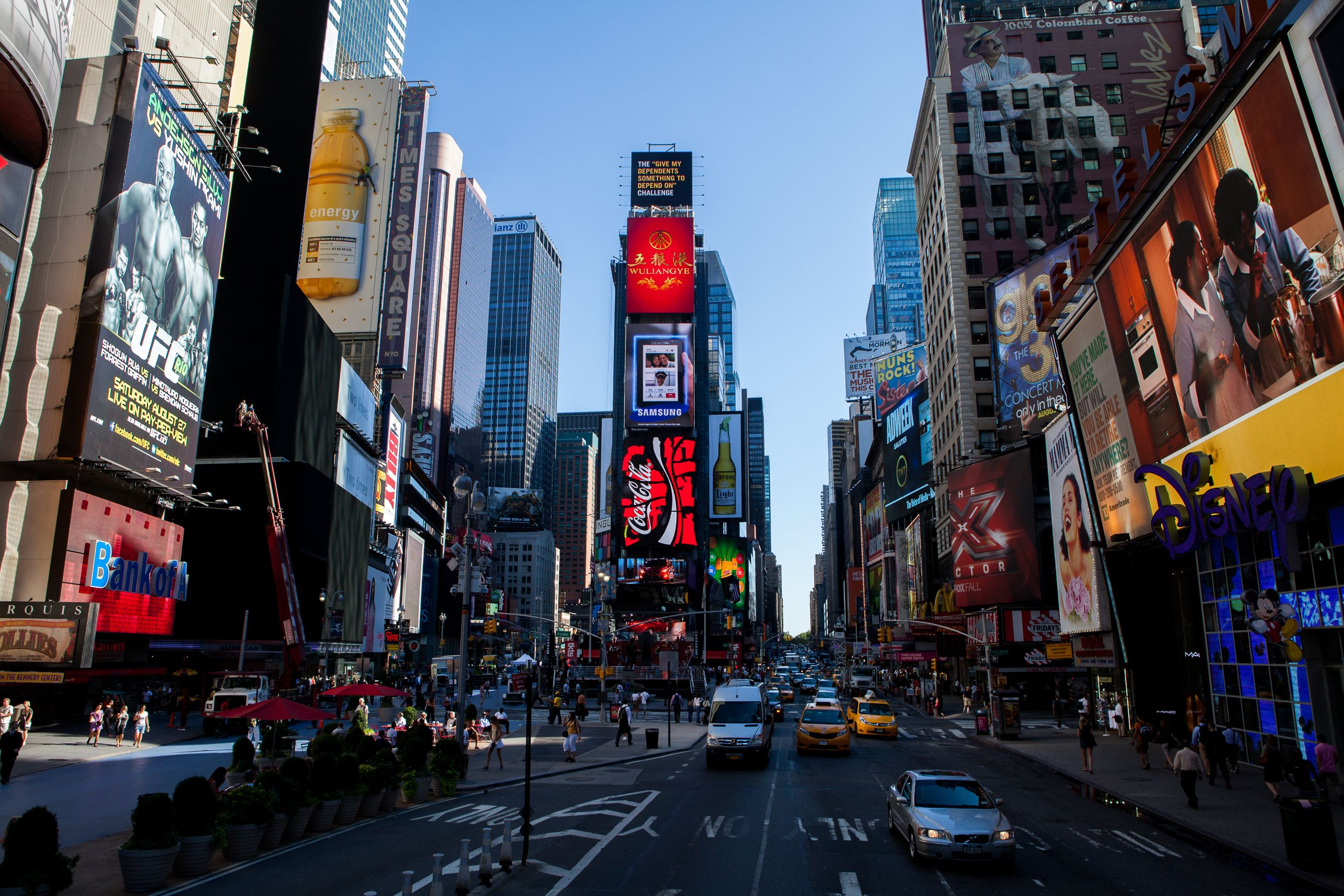 Times Square, August 2011