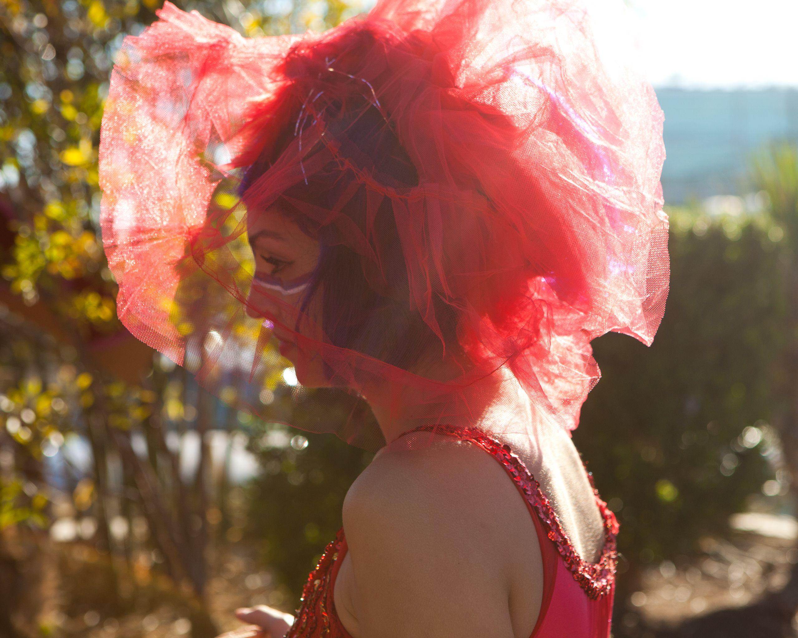 Gina Gabet at the Austin Pre-Valentine's Day Love Brigage