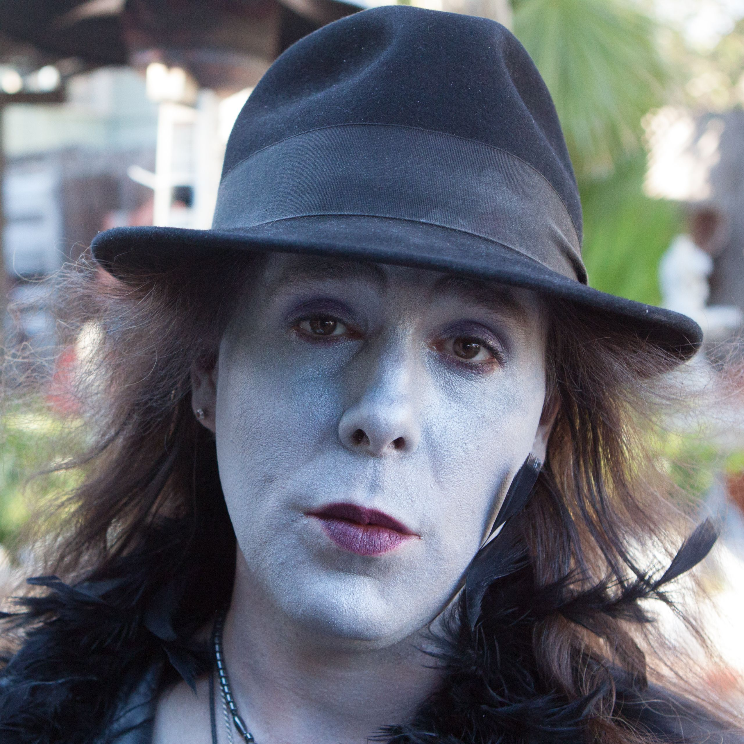 Jared Scott Walden as  Blue Woman