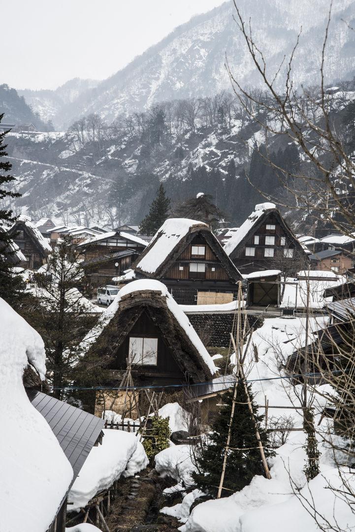 Shinagawa Village. Japan