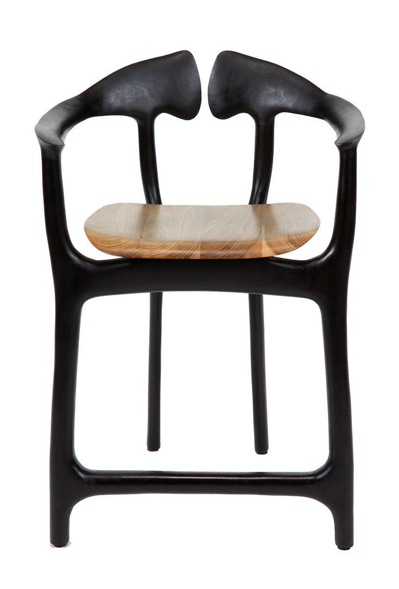 Swallowtail barstool - counter height
