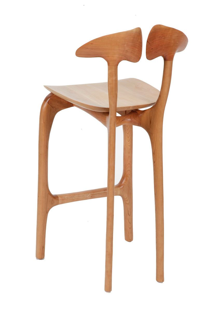 Swallowtail barstool - bar height, no arms