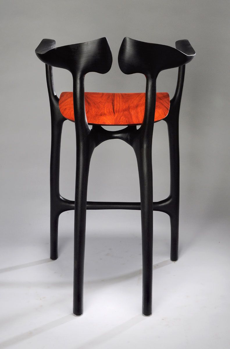 Swallowtail barstool - bar height