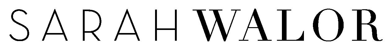 Sarah Walor - As Is