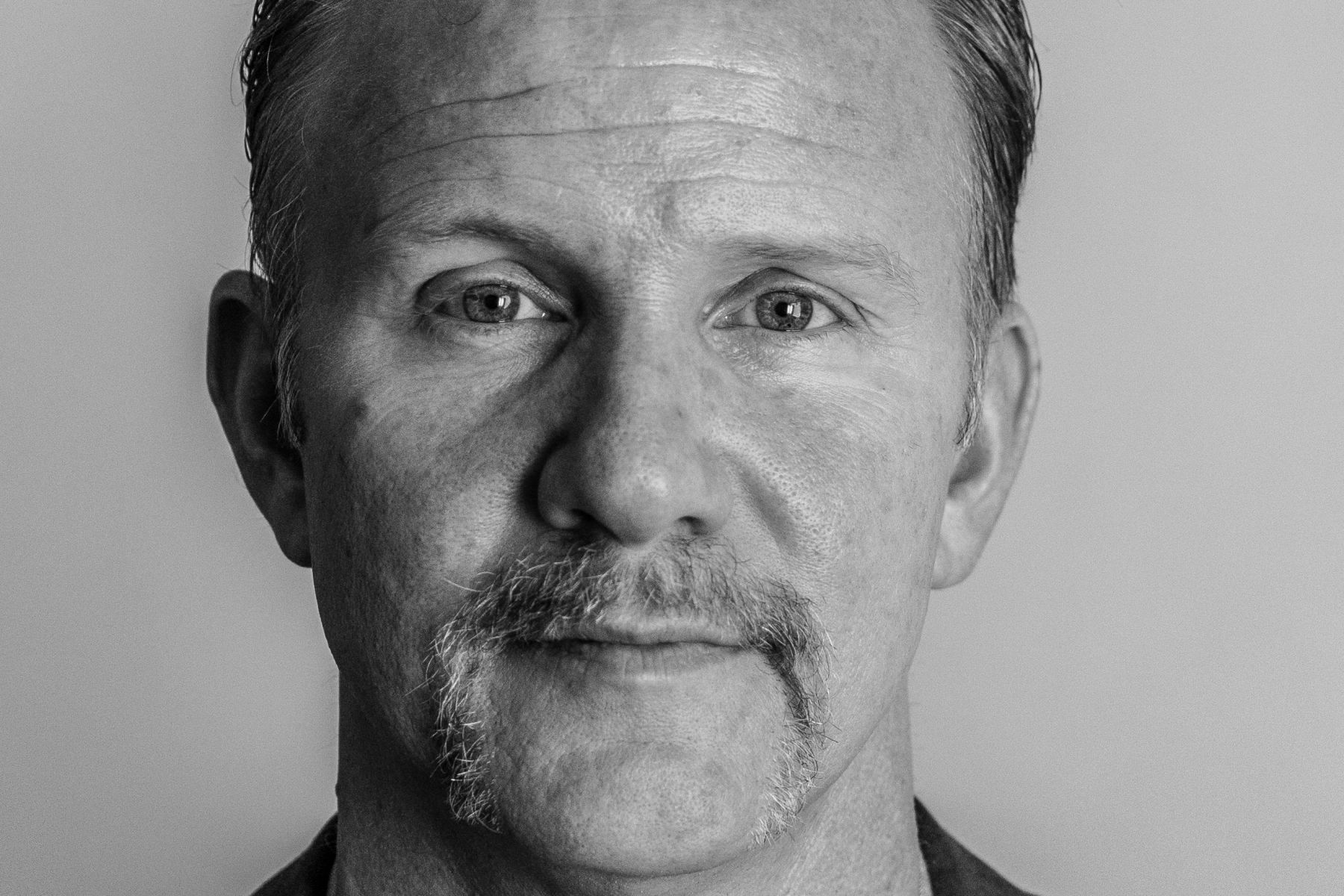 Documentary Filmmaker Morgan Spurlock, New York City, 2015