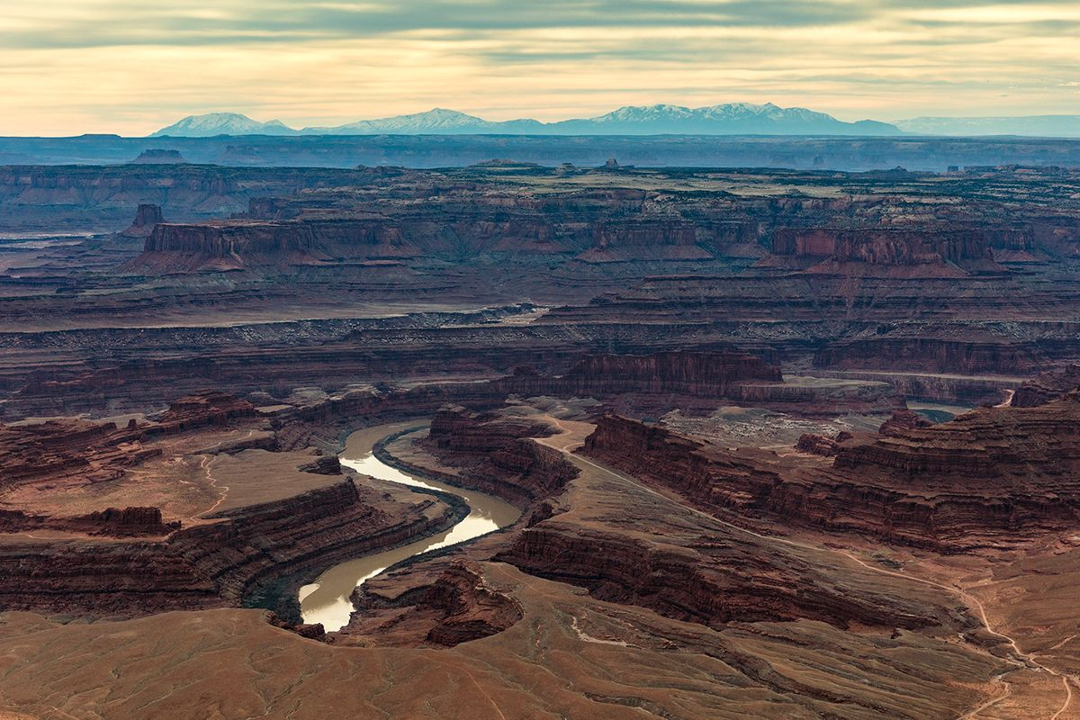 Over The Mighty Colorado, Canyonlands National Park