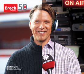 Brock University, both sides of the brain, Scott Regehr - CBC Sports