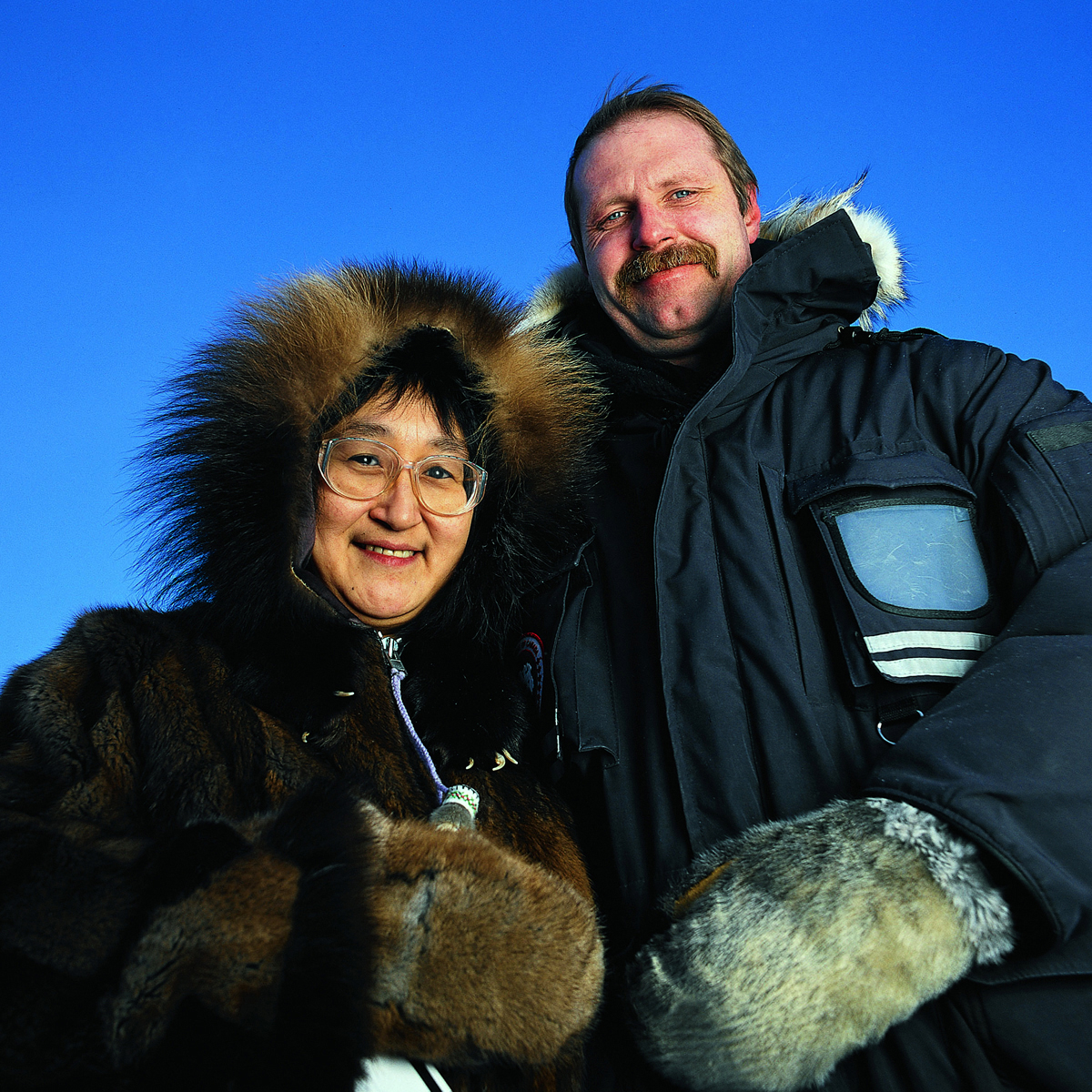 Royal Bank Cambridge Bay, Nunavut, location portrait
