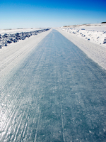 Ice road, Victoria Island, Nunavut