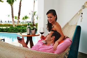 Ocean Swim out  Suite, Tiara resort