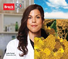 Brock U ads-Lydia Tomek - Hernder Estate Wines
