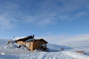 Cabin on the Tundra, near Cambridge Bay, Nunavut