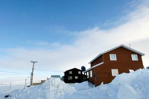 Cambridge Bay houses, Nunavut
