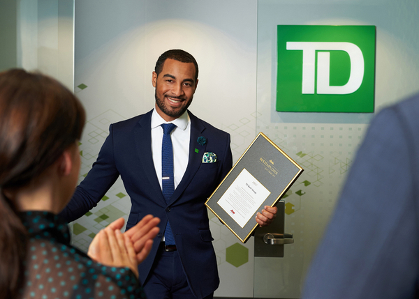 TD -  Award winning employees
