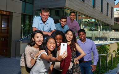University of Toronto Students group selfie