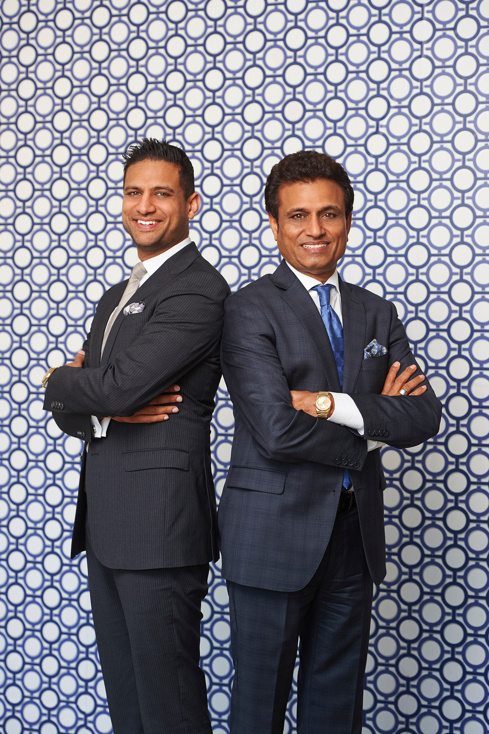 Sandeep & Ray Gupta, Sunray Group