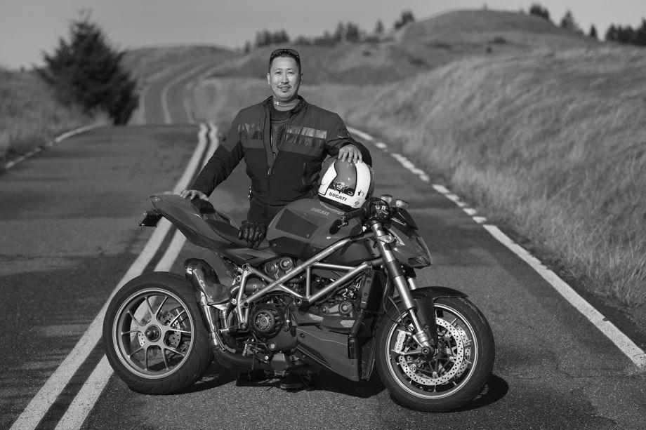Ray Chi, Ducati Rider Portraits.