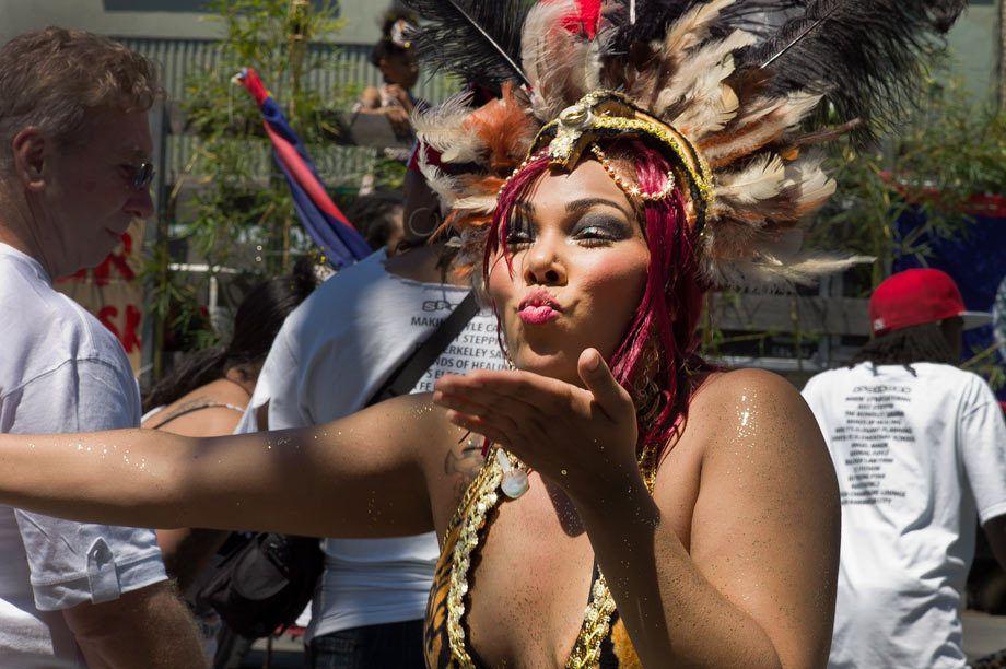 Carnaval participant, San Francisco, CA