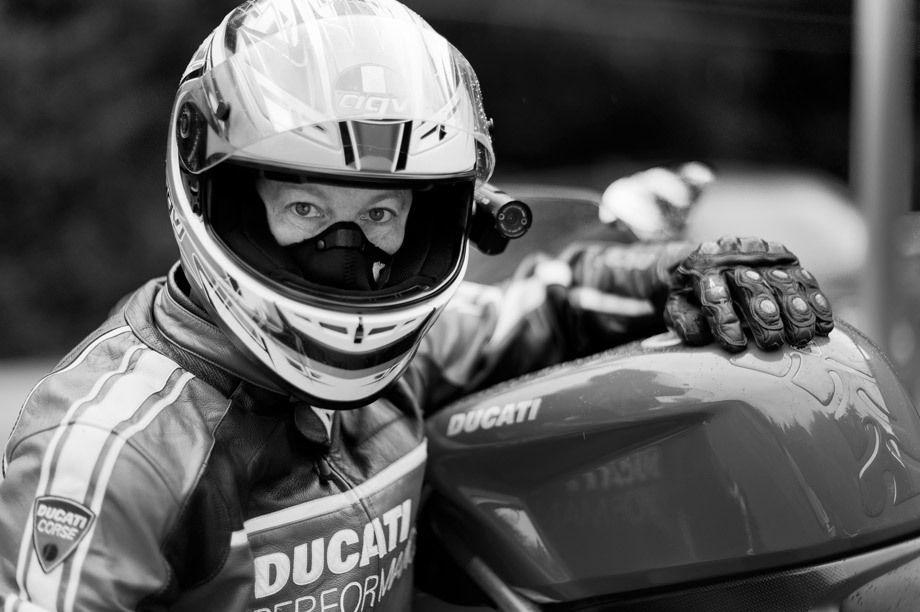 Eric Hale, Ducati Rider Portraits.