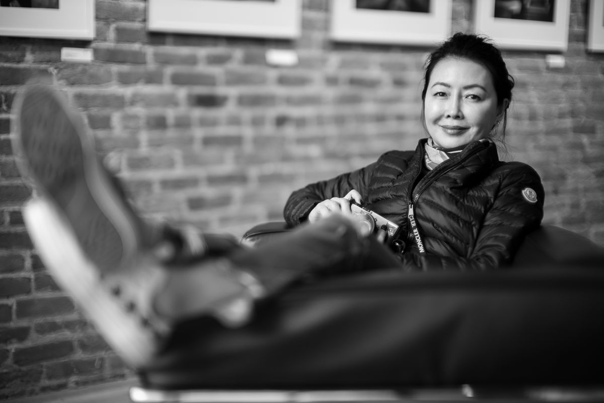 Jane Cui, Leica Chairwoman Asia, Photographer.