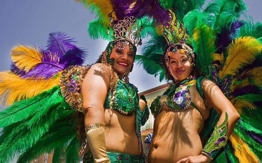 Carnaval participants, San Francisco, CA