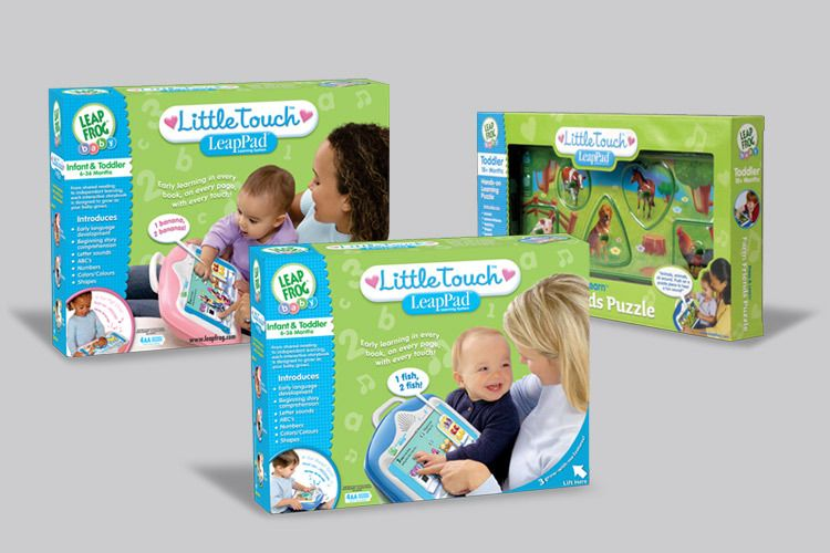 Little Touch LeapPad Packaging