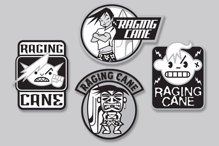 Raging Cane Logo Studies