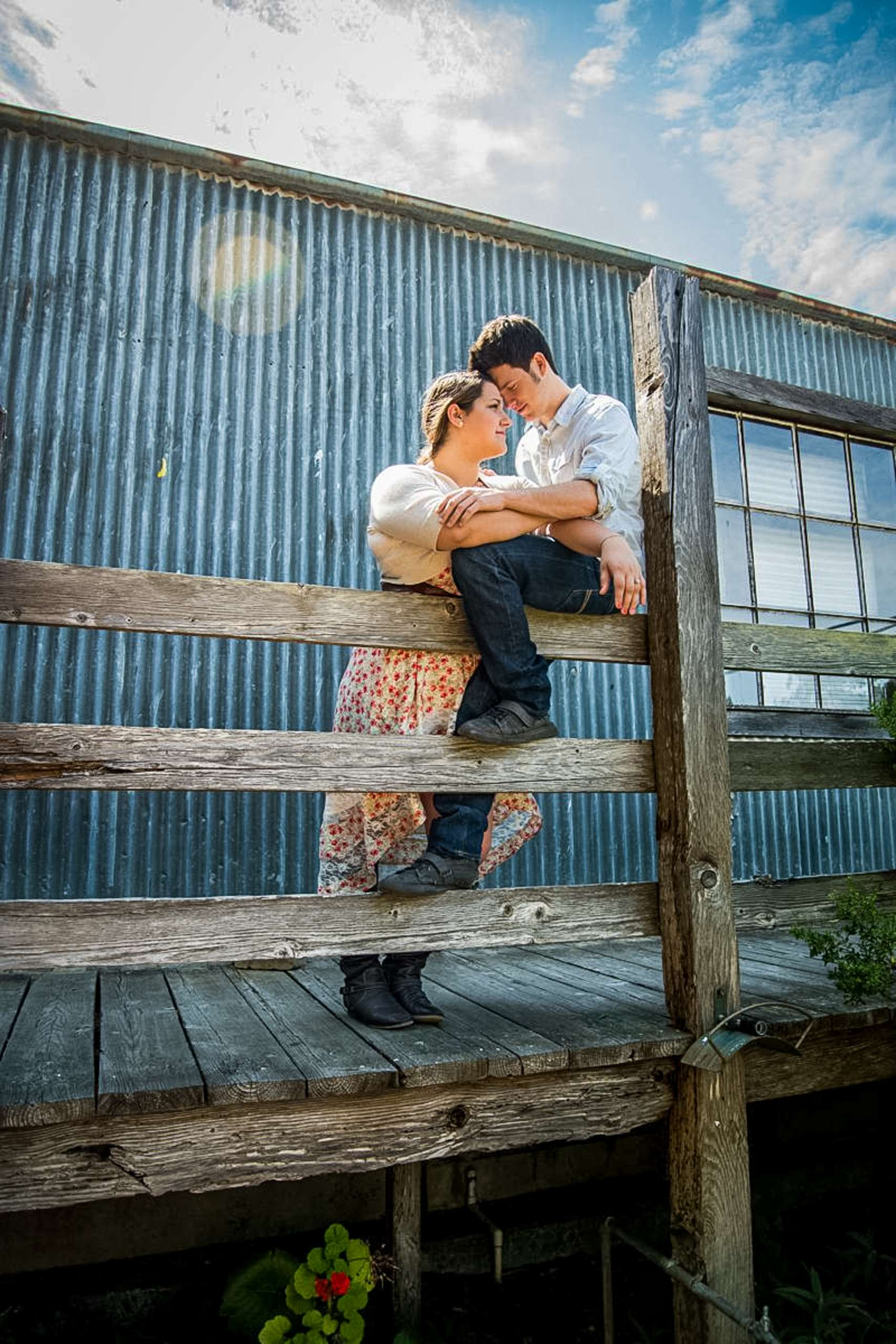 Cowboy Engagement Session