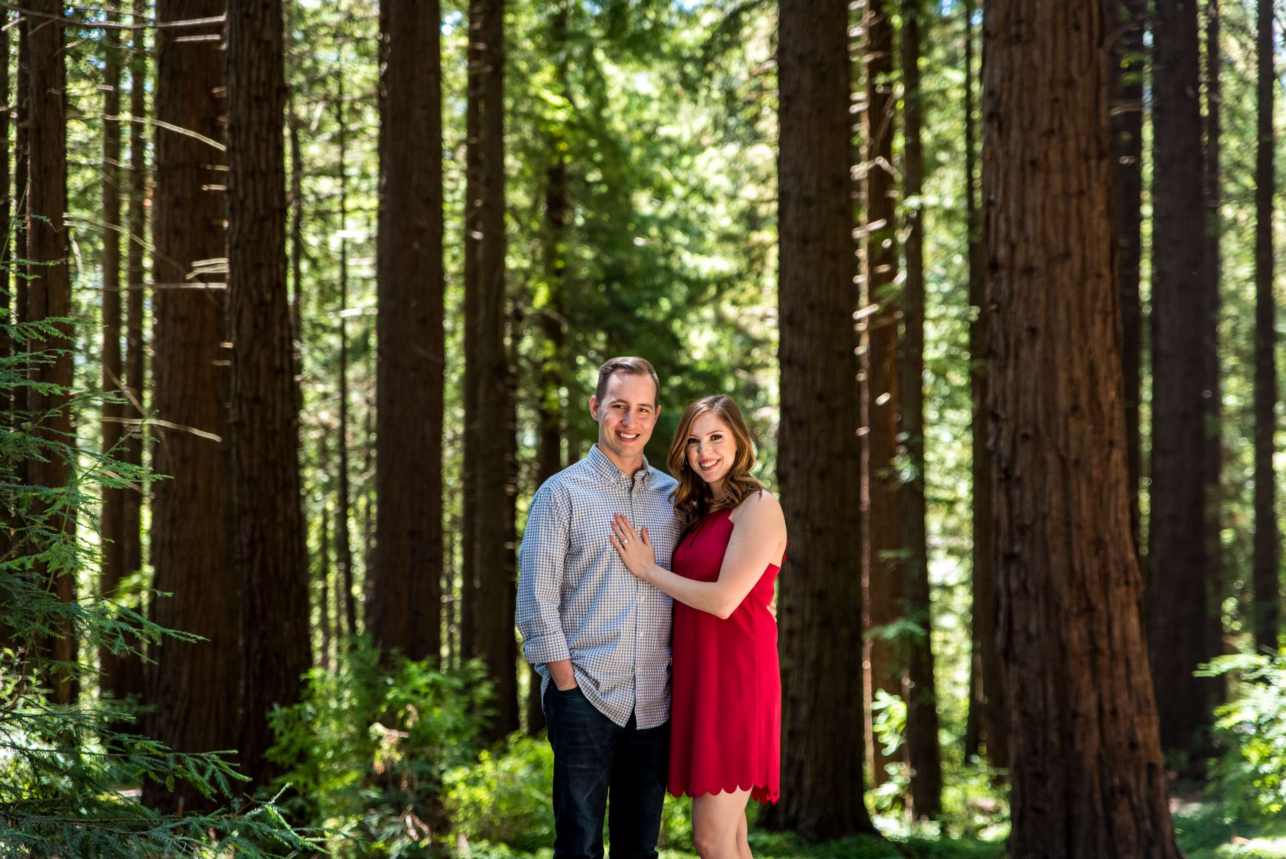 Engagement Session in Redwoods