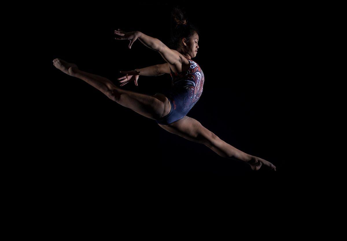 Gymnast Sunisa Lee