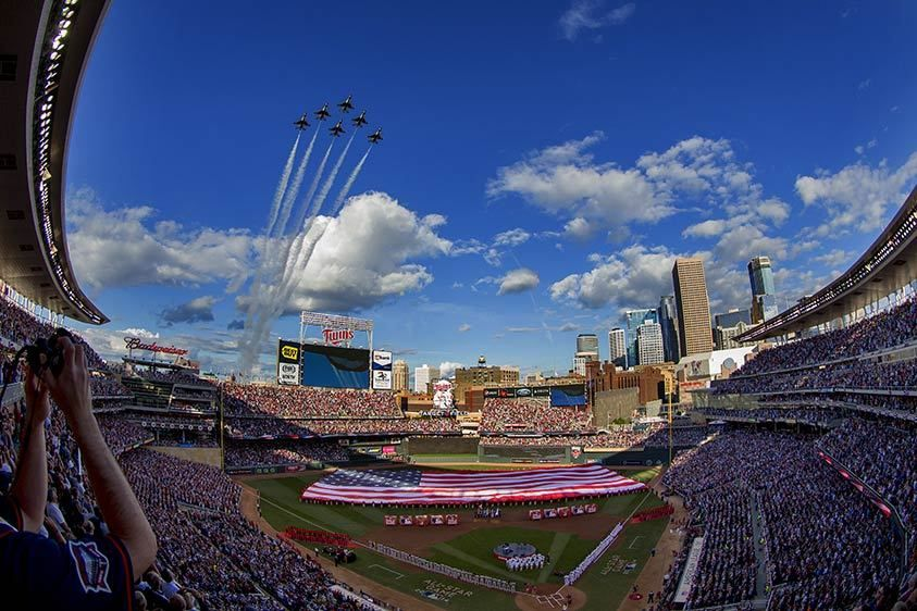 2014 MLB All-Star Game at Target Field.