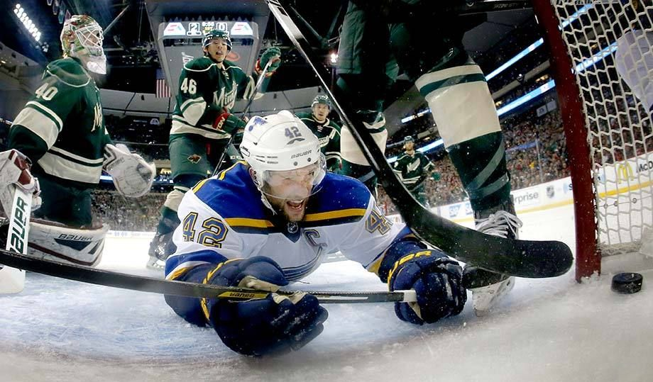 St. Louis Blues David Backes goal.