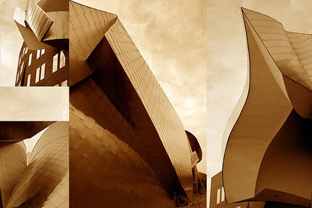 Frank Gehry desing of the Weatherhead School of Management, Peter B. Lewis Building,