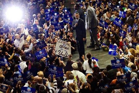 president Obama visits Cuyahoga Community College, Cleveland, Ohio, © steve_wagner_photography