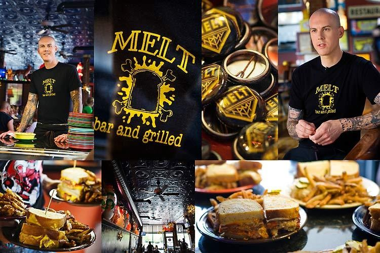 Melt bar & grilled. Matt Fish, owner, chef, © steve_wagner_photography