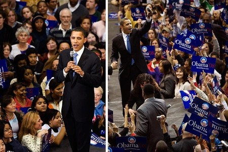 Barack Obama visits Cleveland Ohio, © steve_wagner_photography
