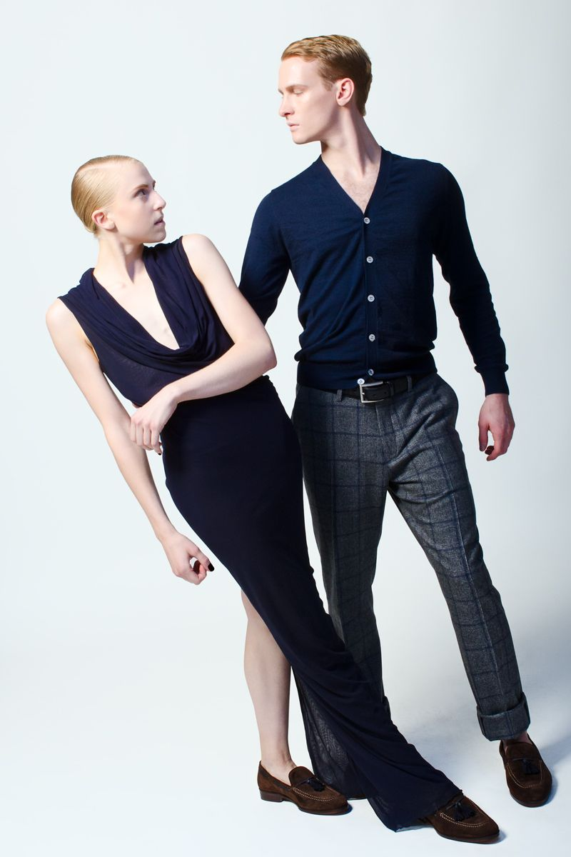 Models: Lars Nelson, Claire KretzschmarStyling: Michael DeLucaMakeup: Michael ChuaHair: Tim Aylward