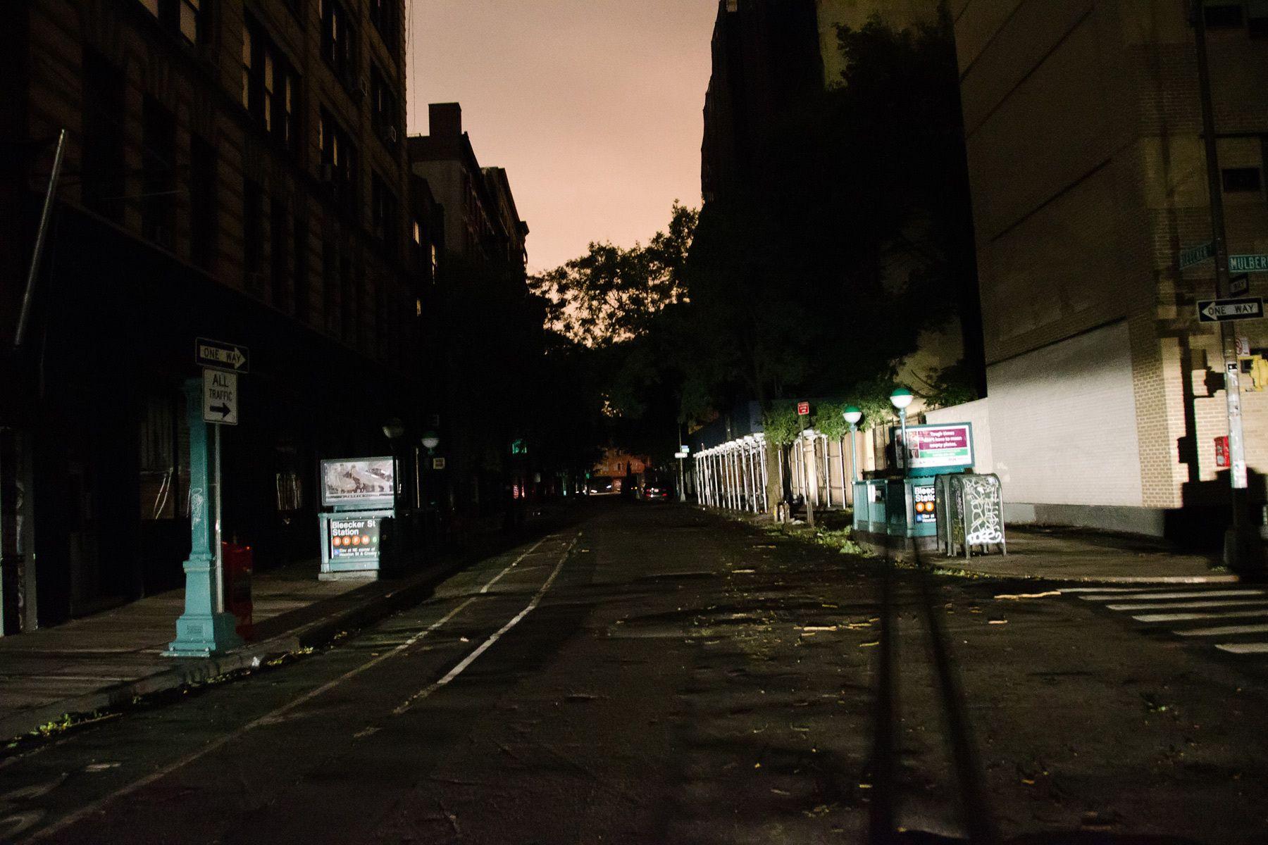 Hurricane Sandy Blackout, 2012.