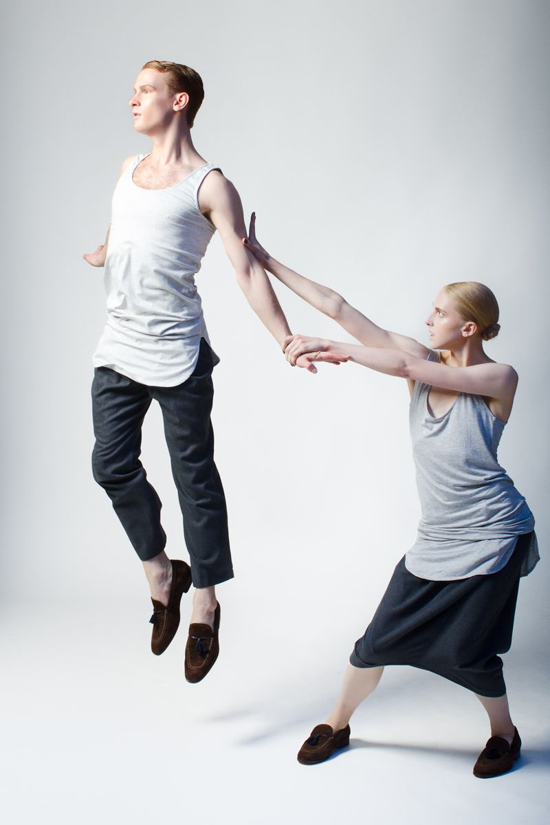 Models: Lars Nelson, Claire KretzschmarStyling: Michael DeLucaMakeup: Michael ChuaHair: Tim Aylward