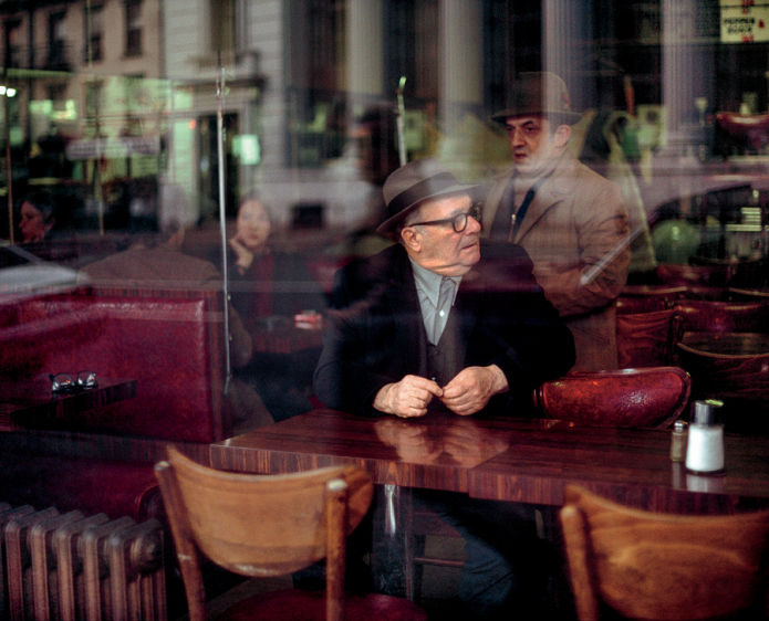 Old Men in  a Coffee  Shop, New York, NY, 1981