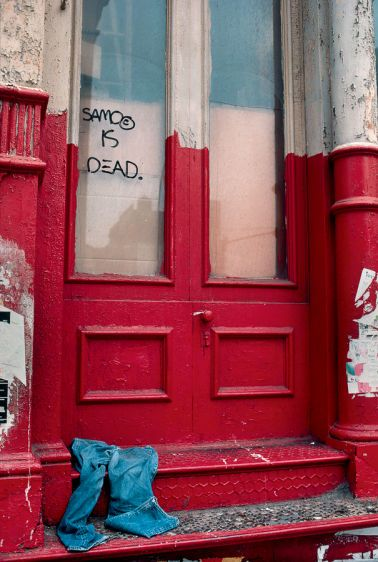 SAMO is Dead,  New York, NY 1981