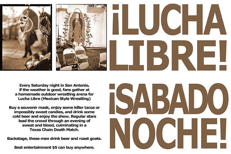 Â¡LUcha Libre Sabado Noche!