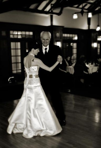Dancing with the Bride.