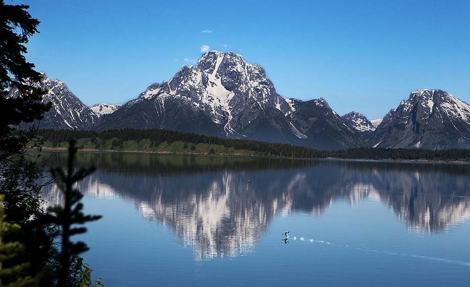 Mountains & Jackson Lake