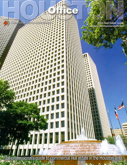 Cover photo - Houston Office Real Estate Guide - Greater Houston Partnership