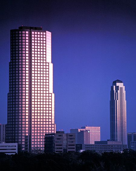 Chase Bank & Williams Tower - Houston, Texas