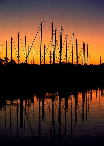 Marina Sunset - Kemah, Texas