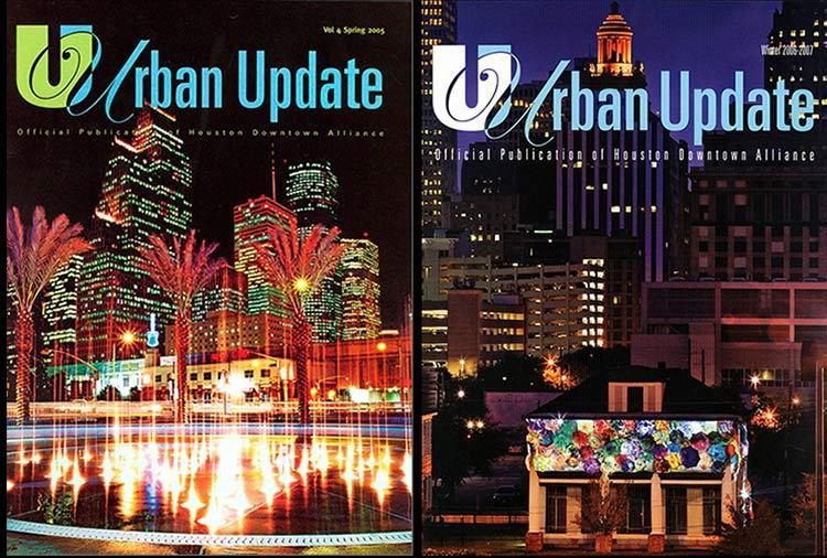 Urban Update magazine covers - Spring 2005 & Winter 2007